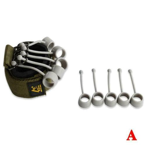 Finger Gripper Strength Trainer Hand Yoga Resistance Training Band Finger q L7C5