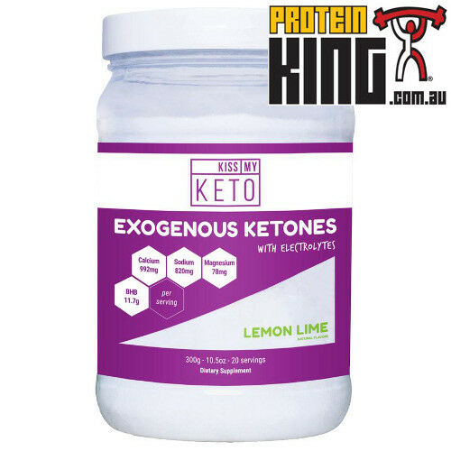 KISS MY KETO EXOGENOUS KETONES WITH LIME ELECTROLYTES 20 SERVE LEMON LIME WITH WEIGHT LOSS e06f73