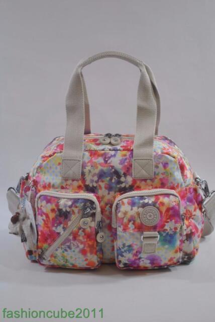 Kipling Defea Handbag Shoulder Crossbody Bag Garden Hy