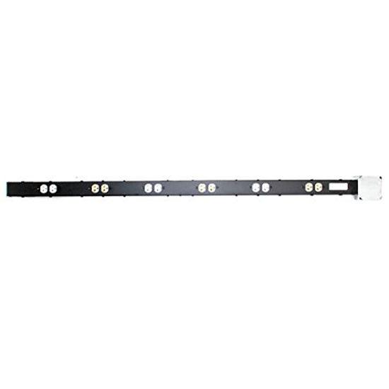 Middle Atlantic PD-2X620J Grünical Power Strip, 12 Outlet, (2) 20A Outlets, 61