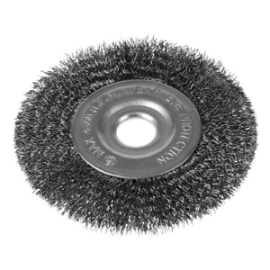 10x Stahldraht Bürste Ø125mm Scheibenbürste Drahtbürste Kegelbürste Rundbürste