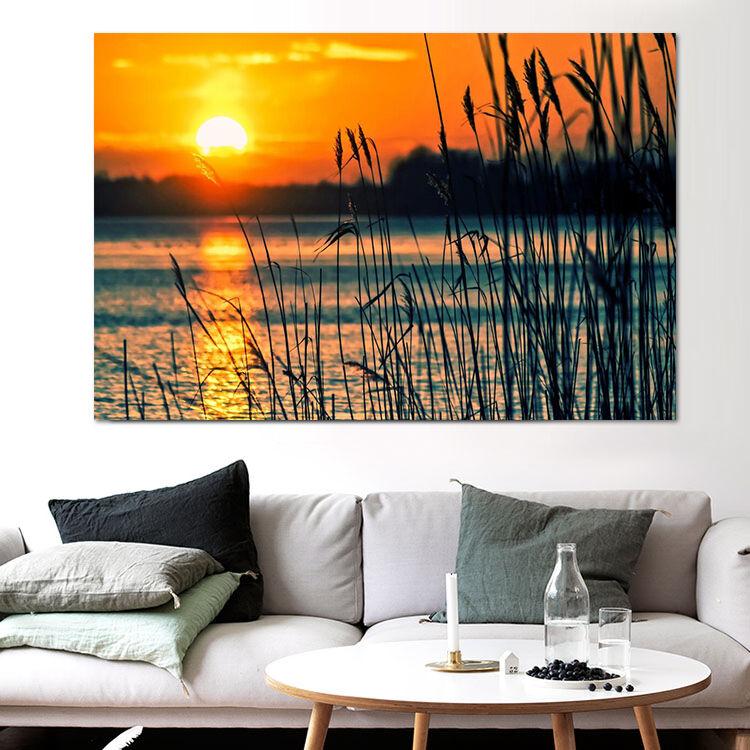 3D Sonnenuntergang Fototapeten Wandbild Fototapete BildTapete Familie AJSTORE DE