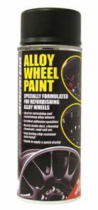 E-TECH-Car-Alloy-Wheel-Spray-Paint-MOTORSPORT-BLACK-400ML-Can-Chip-Resistant