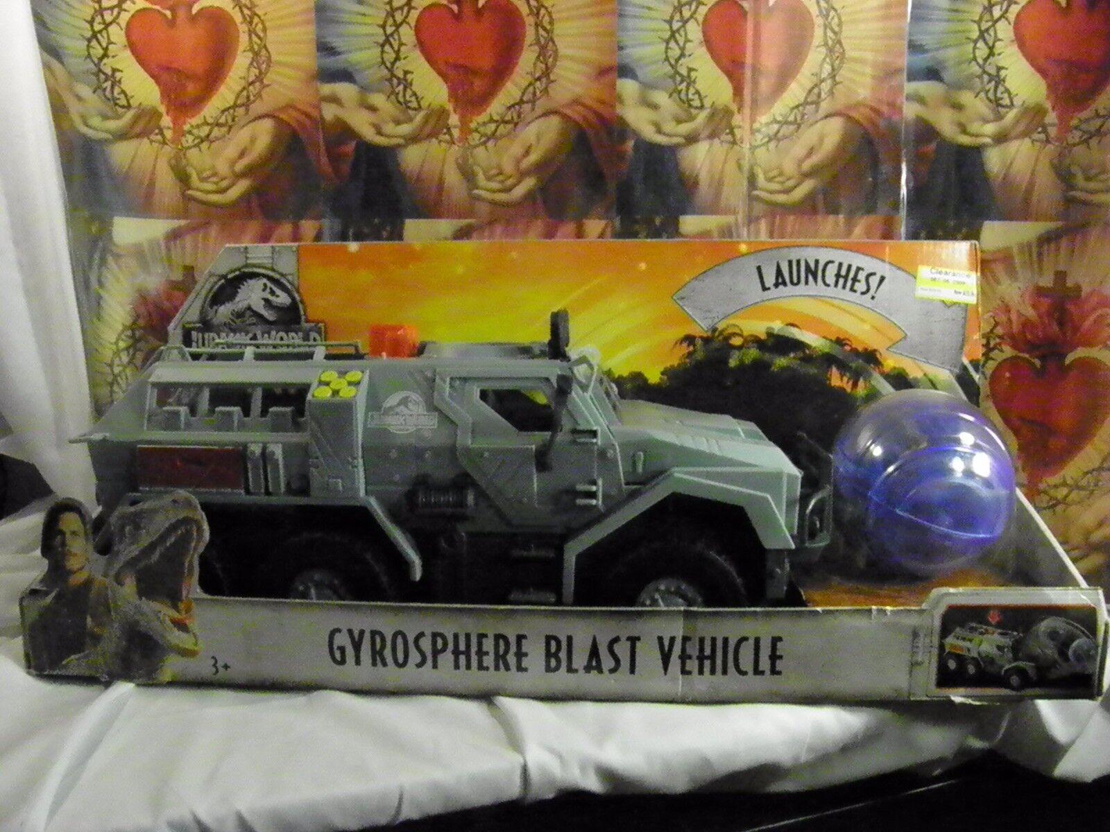 Jurassic World 2 GYROSPHERE BLAST VEHICLE FALLEN KINGDOM 2018
