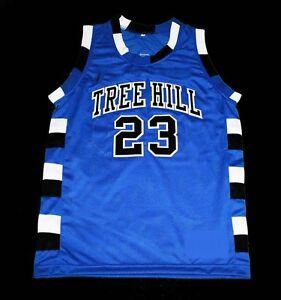 Details about CUSTOM NAME/# ONE TREE HILL RAVENS BASKETBALL JERSEY BLUE SEWN NEW ANY SIZE