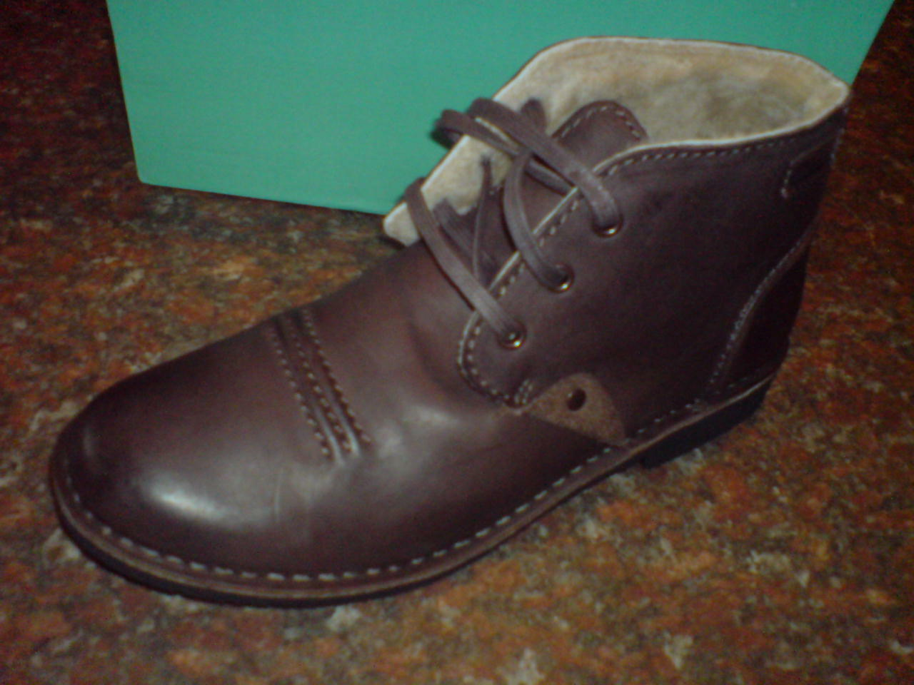 Clarks Mix  Herren  Motive Mix Clarks Stiefel    Warm Lining 54% WOOL   UK 10 / US 11 G 389aca