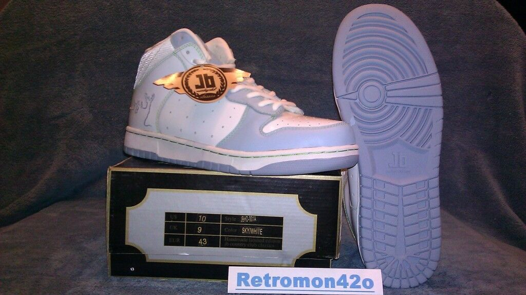JB X BEINGHUNTED MID SKY blueE WHITE DEER LIME GREEN PATENT LIMITED 22 48 CLASSIC