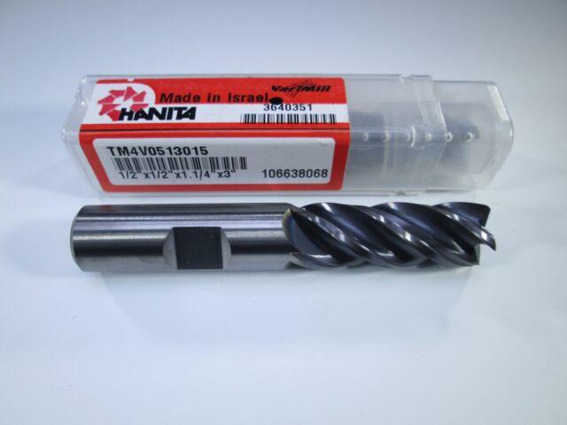 Carbide Safe-Lock 0.75 Cutting Diameter 5FL WIDIA Hanita 5V0E19017EV VariMill II ER 5V0E HP Finish End Mill 1.625 LOC RH Cut AlTiN 0.12 Rad