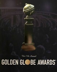 2020 GOLDEN GLOBE AWARDS PROGRAM PHOENIX AWKWAFINA PITT 1917 JUDY IRISHMAN JOKER