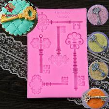 1Pcs DIY Silicone Keys Chocolate Cake Mold Fondant Mold Fondant Baking Tool