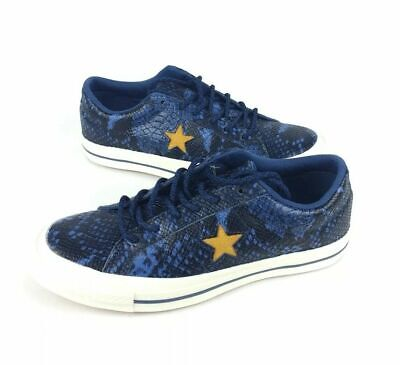 NEW Converse One Star Ox Snake Skin