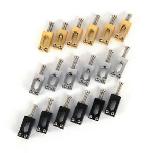 6x-roller-bridge-tremolo-saddles-for-tele-electric-guitar-gold-amp-silver-amp-blevsB-Gh