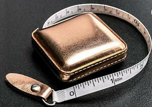 Rose-Gold-Retractable-Tape-Measure-in-PU-Fabric-Case-150cm-Gift-Stocking