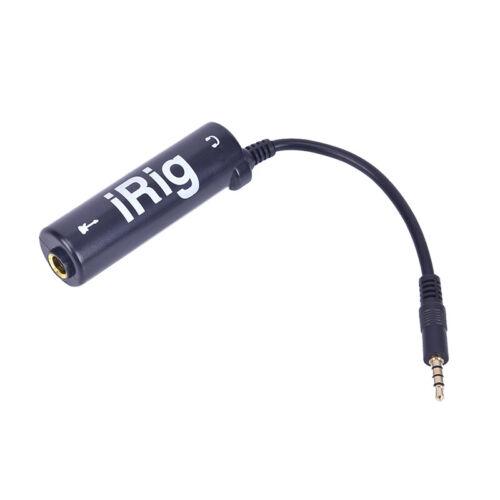 Guitar Interface IRig Converter Replacement Guitar for Phone New A G4MFlu