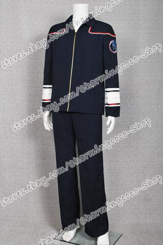 Star Trek Cosplay Enterprise Admiral Costume Military Uniform Navy Blue Hot Sale