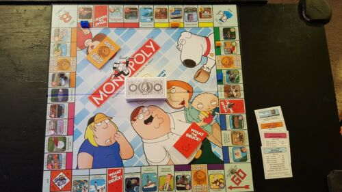 Family Guy Monopoly Collector/'s Ed Replacement Pieces Choose What You Want