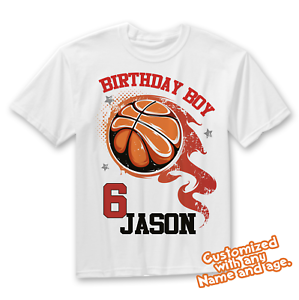 Sports Birthday Basketball birthday Sports party Basketball Birthday Shirt