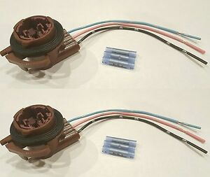 Details about SET OF 2- ACDelco LS92 Wire Harness Pigtail Light Socket on
