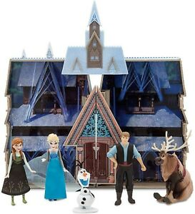 Disney Frozen Castle Exclusive Play 3 Toy Doll House Arendelle Anna