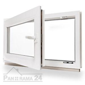 Kunststoff-Fenster-2-amp-3-Fach-Verglast-Dreh-Kipp-alle-Groessen-LAGERWARE
