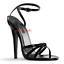 Sexy-SANDALI-DOMINA-tacco-15-dal-35-al-46-in-7-COLORI-cinturino-scarpe-GLAMOUR