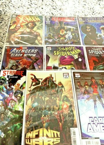 Thor Spiderman Guardians Walmart Varient Comics Wolverine Strange Academy