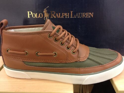 cuir Sneakers Top Lauren Hi Ralph cuir Mid en Polo Chaussures Parkstone High Pn0vB5gW