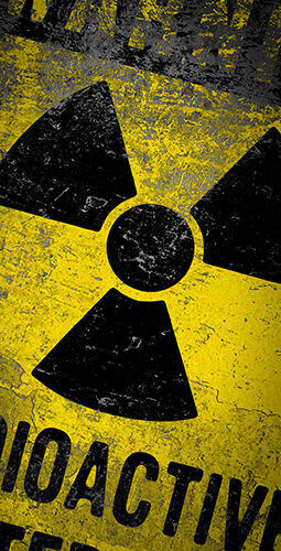 Radioactive Hazardous Materials Themed Cornhole Board Prints   Wraps