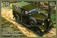 IBG 1/72 POLSKI FIAT 508/iii Ambulanza # 72010