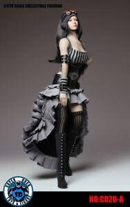 "SUPER DUCK 1//6 Punk Gray Steam Dress Costume Model C020-A For 12/"" PH JO TBL Body"
