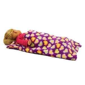 f94bc80b684c Soft Lavender Sleeping Bag Fits 18