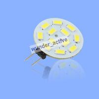 G4 12 SMD 5730 LED Lampe Birne Spot Licht Kalt weiss 1.5W 140-160Lm DC 12V
