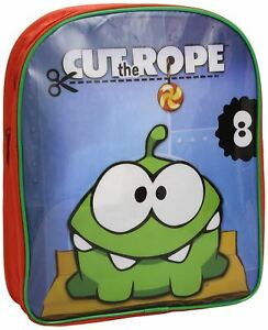 Cut The Rope Unisex Boys Girls BackPack School Bag Rucksack