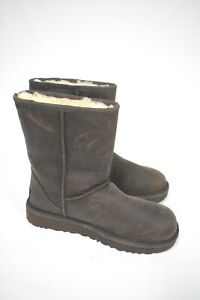 0bfaee83211 Details about UGG Australia Classic Short UGGpure(TM) Lined Boots Women's  Brown 1016559 SZ 6