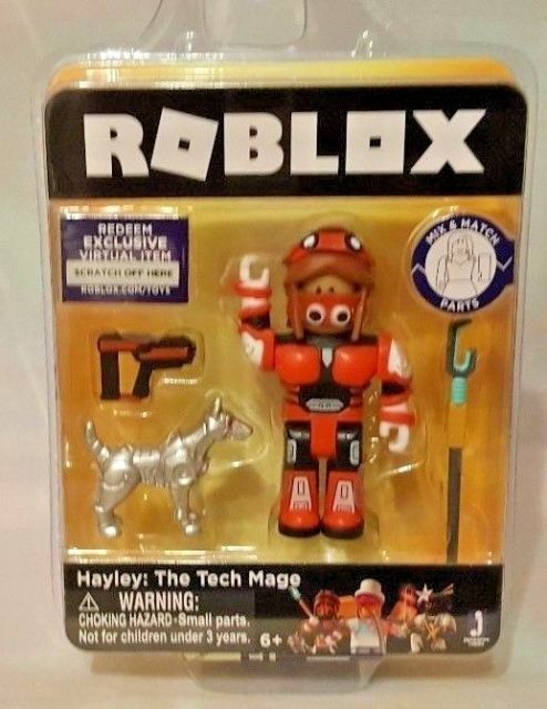 Ebay Roblox Figures Roblox Hayley The Tech Mage Figure Virtual Item Code Rare Collectible Toy For Sale Online Ebay