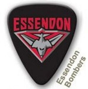 Essendon-Bombers-Guitar-Picks-5-Pack-Official-AFL-Product