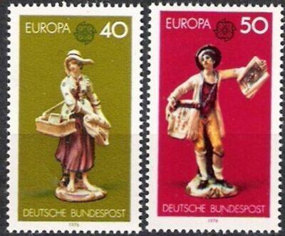 Warnen Bund Nr.890/91 ** Europa, Cept 1976, Postfrisch