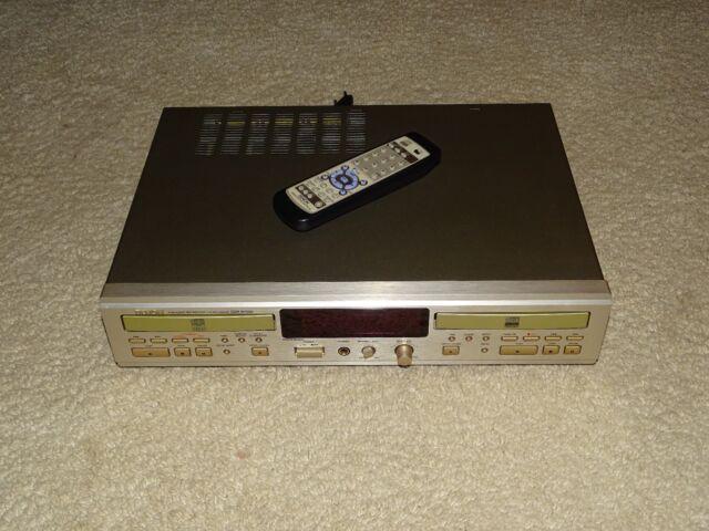 Denon cdr-w1500 high-end CD-grabador, champaña, HDCD, incl. FB, 2j. garantía