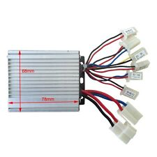 36V 350W Brush Motor Speed Controller for Hall eBike Bicycle Scooter Gokarts ATV