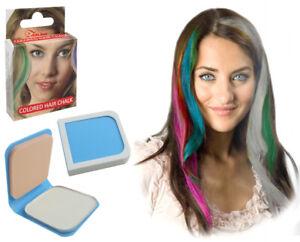 Anwendung Haarkreide