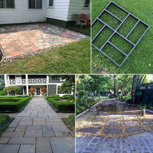 Image Is Loading Driveway Paving Brick Patio Concrete Slabs Path Garden