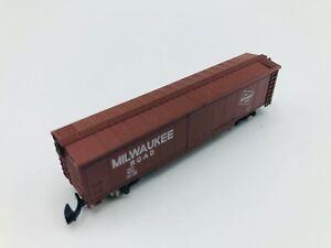 Marklin-Z-Scale-Mini-Club-8637-Box-Car-Milwaukee-Road-19042