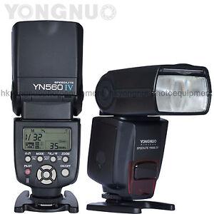 Details about Yongnuo YN560 IV Flash Speedlite for Canon 1300D 1200D 1100D  750D 700D 650D 600D