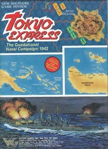 Avalon-Hill-Tokyo-Express-Solitaire-Game-PDF-Reference-Disc-Free-P-amp-P