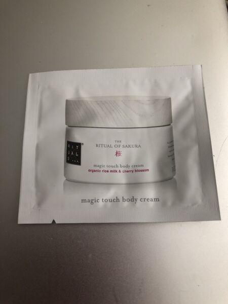 FREE Rituals Sakura Magic Touch Body Cream Sample   VonBeau