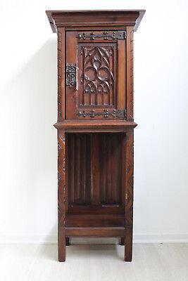 AnpassungsfäHig Kom186 Pfeilerkommode Neogotik Gotik Historismus Um 1880 Frankreich Eiche