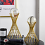 thumbnail 3 - For Sphere Crystal Balls Displays Gold Metal Base Stand Not include ball
