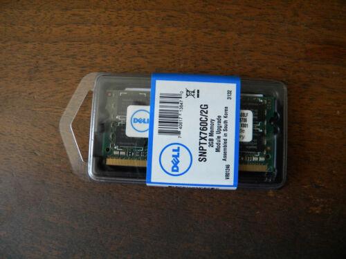 SNPTX760C//2G Dell PC2 6400 2 GB SO-DIMM 800 MHz DDR2 SDRAM Memory