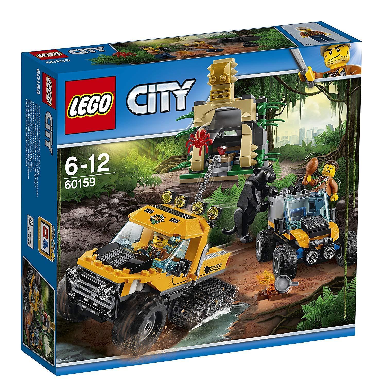 Lego 60159 - City Jungla: Misión en Semioruga - NUEVO