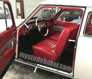 Studebaker-Door-Rubber-Set-1947-1962-cars-1960-1964-Champ-trucks